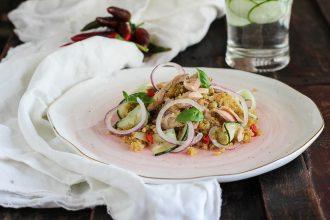 Insalata di Sgombro e Quinoa croccante