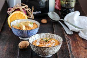 Due versioni golose per la Zuppa Rustica di Zucca