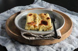 Cannelloni Patate e Salmone, perfetti per le feste