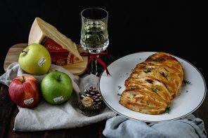 Strudel salato con Pulled Pork, Mela IGP e Stelvio